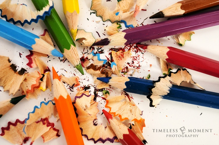 Color Pencils by Timeless Moment Photography