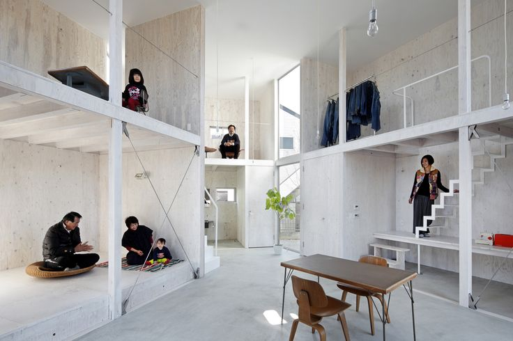 """Built by Yamazaki Kentaro Design Workshop in Kashiwa, Japan A """"container"""" that changes as you design and live in it, and design it, on top of the challenge of living in such a h..."""