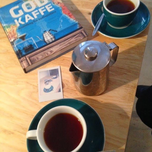 Becoming RAJE: Visiting Stockholm.... We find coffee wherever we go... A x