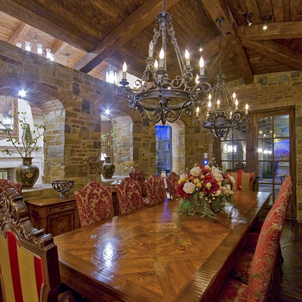 Old World Style Dining Space