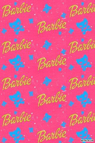 764 Kitty Skull Barbie Iphone Wallpaper Gif 320 480 Barbie S