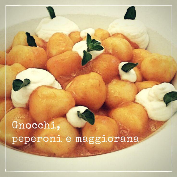 Dumplings, peppers and marjoram #food