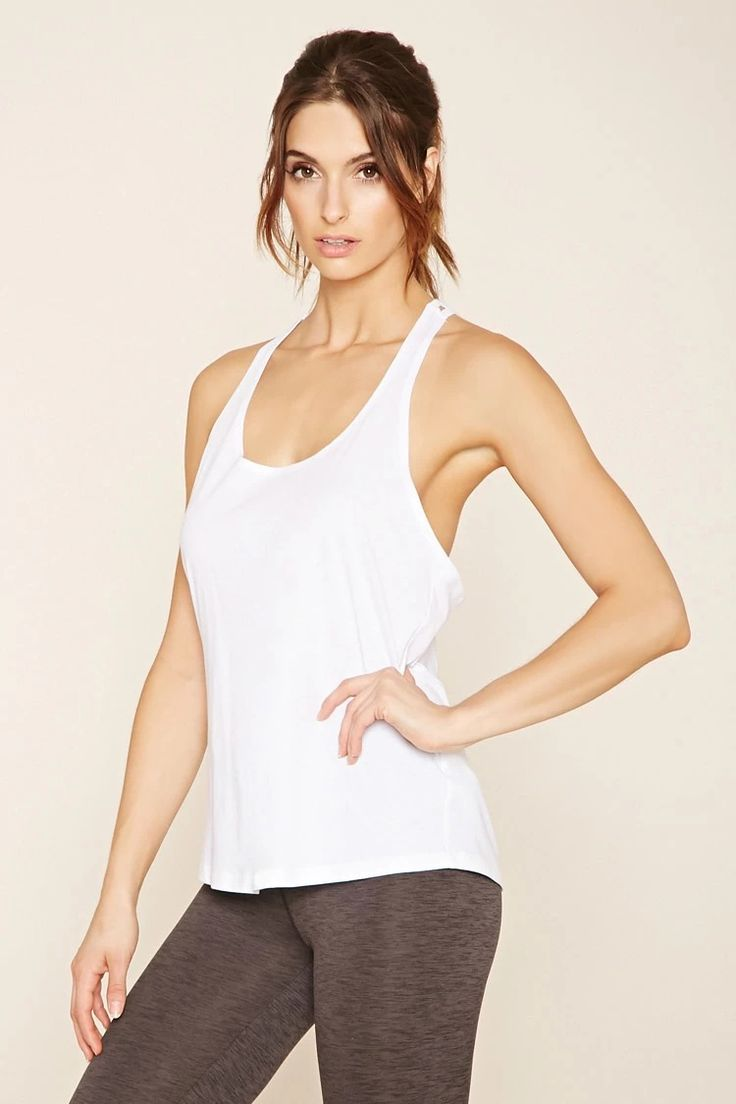 Active Ladder-Back Tank #workitout