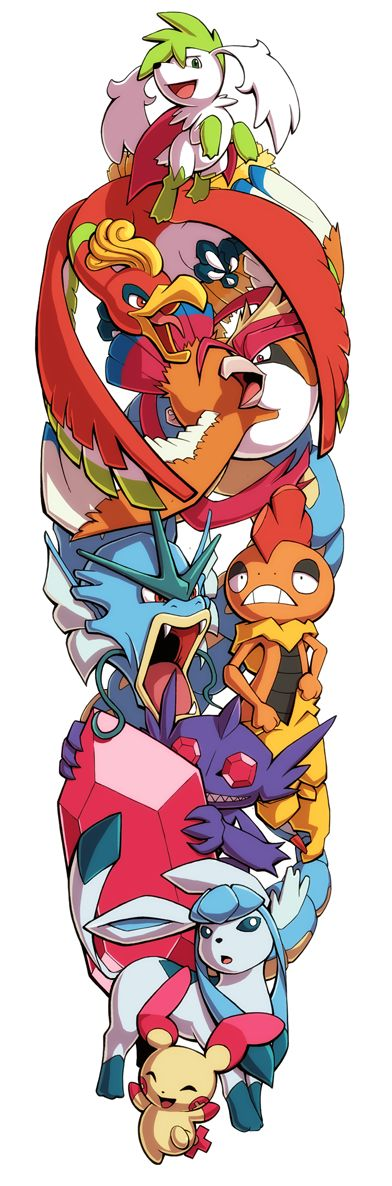 Pokemon Sleeve 11 by H0lyhandgrenade on DeviantArt