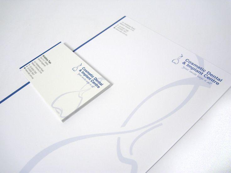 Cosmetic Dental - Business Cards & Letterhead