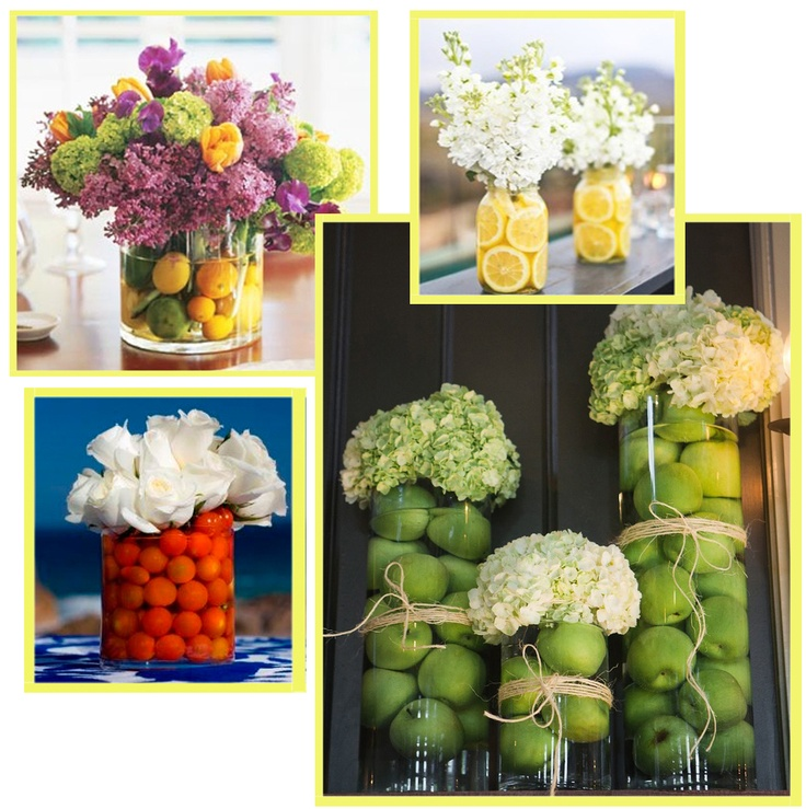 38 best fruit floral table settings centerpieces scapes Floral arrangements with fruit