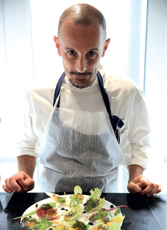 Enrico Crippa *** Chef Piazza Duomo Alba Cuneo Piemonte Italia