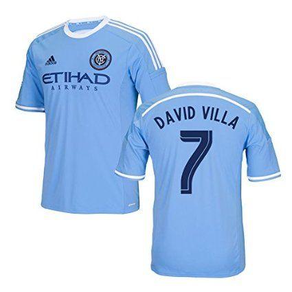 2016-17 New York City Home Shirt (David Villa 7)