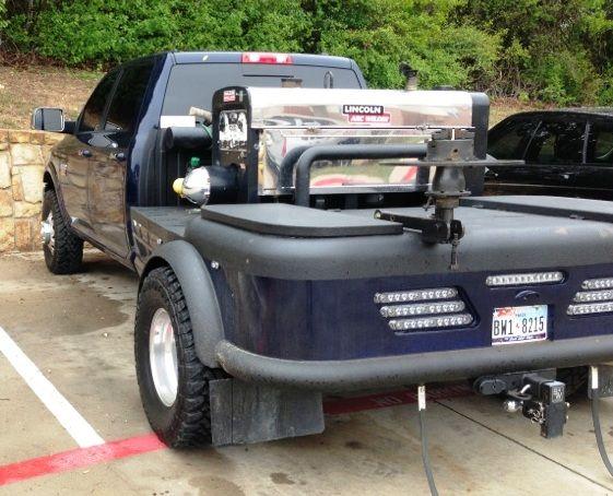 Custom Welded Steel Truck Fenders : Slick rig welding pinterest money trucks and the o jays