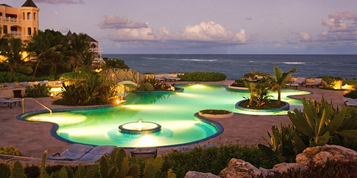 The Crane's pool complex is a major draw, with waterfalls, a lagoon-style pool, and more. #Jetsetter