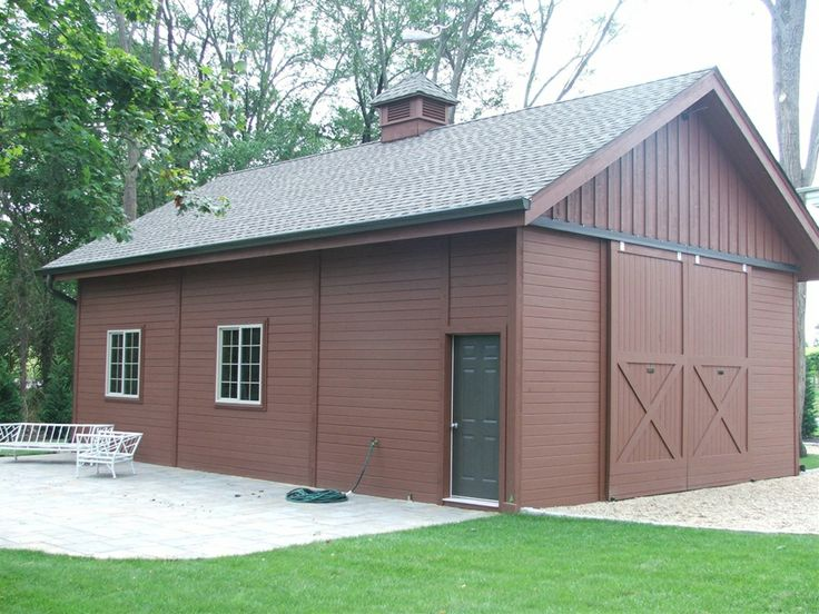65 best my dream barn images on pinterest cabana sheds for Garage plans with boat storage