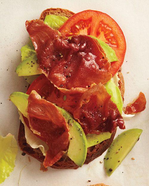 Crisp Prosciutto, Lettuce, and Tomato Sandwich __ Heat oven to 400 ...