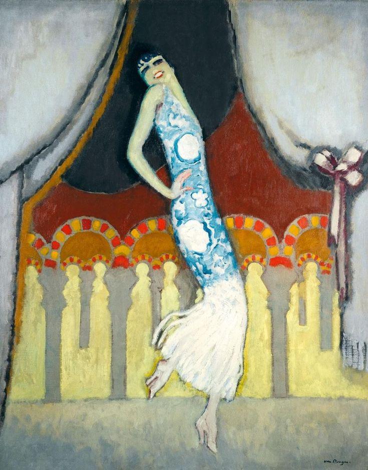 y Kees van Dongen, 1877- 1968 CARMEN VINCENTE DANSANT