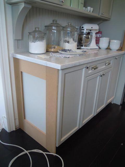updating builder grade end cabinets evolution of style rh pinterest com
