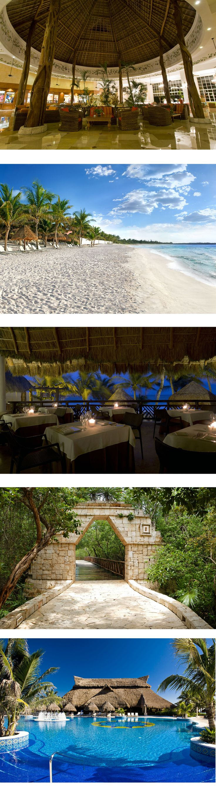 Are you looking for an exclusive, adults-only hotel of your dreams? You've just found it. #CataloniaRoyalTulum #TravelTuesday