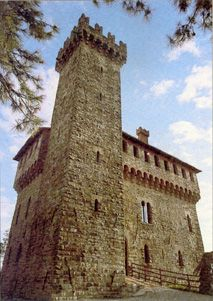 Trisobbio Alessandria , Piemonte Italy , castle , 13th century