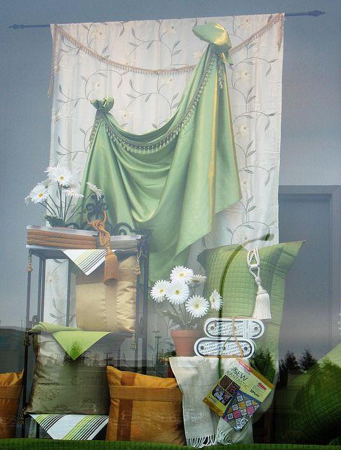 Spring Window Display   Fabricland Spring Window Displays   Flickr - Photo Sharing!