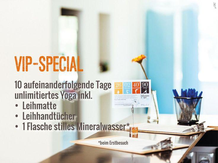 Gewinnt 5 VIP-Specials für Bikram Yoga Wien Süd! » Das Give-Away dieser Woche sind fünfVIP-Specials für Bikram Yoga  ...