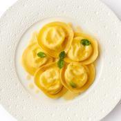 Tortellini au fromage citron menthe - une recette Italien - Cuisine