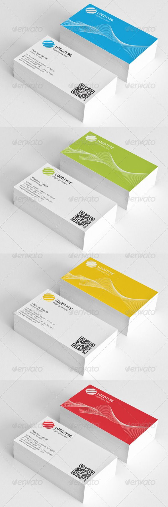 Corporate Business Card 106 best Print Templates