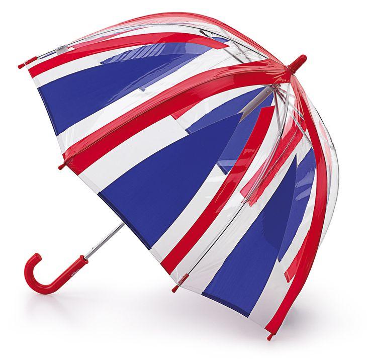 Parasol dla królowej Angielskiej lub też małej #fashionistki Union Jack, Fulton