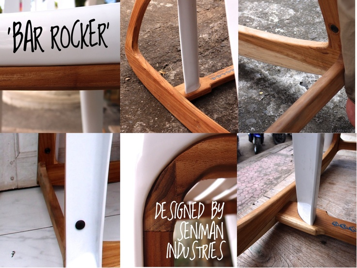 'Bar Rocker' By Seniman Industries