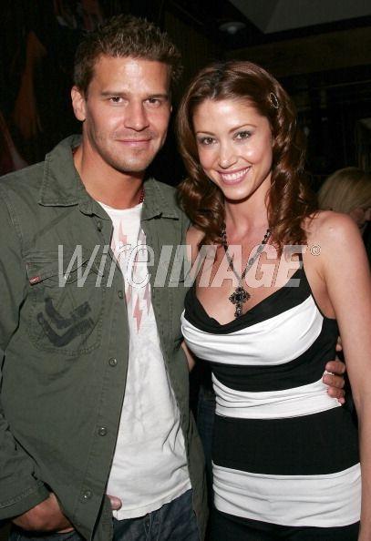 David Boreanaz and Shannon Elizabeth...
