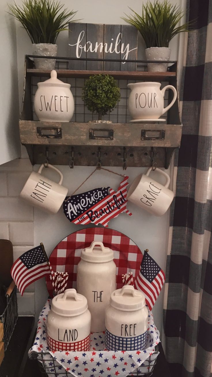 17 best Rae Dunn Fourth of July images by Bonnie Bertholf on Pinterest
