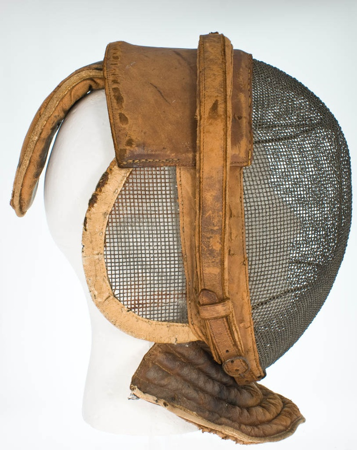 Antique Fencing Helmet