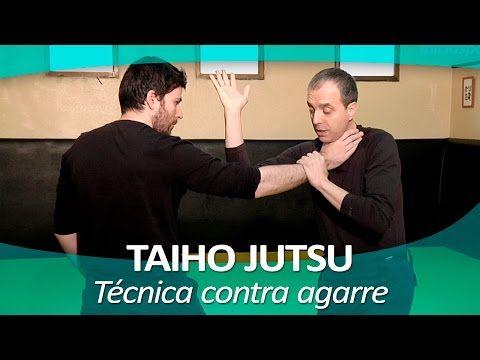 TAIHO JUTSU 5 (sistema japonés defensa personal policial) | Técnica contra patada zona genital - YouTube