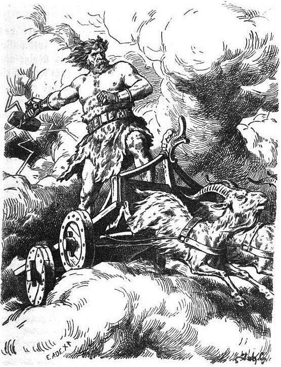 Thor by Johannes Gehrts - Járngreipr – Wikipédia, a enciclopédia livre