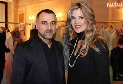 With Georges Hobeika during PFW 2012