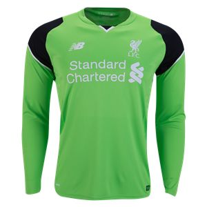 Liverpool 16/17 LS Keeper Jersey   Check out the best in soccer goalkeeping equipment and gear at WorldSoccershop.com