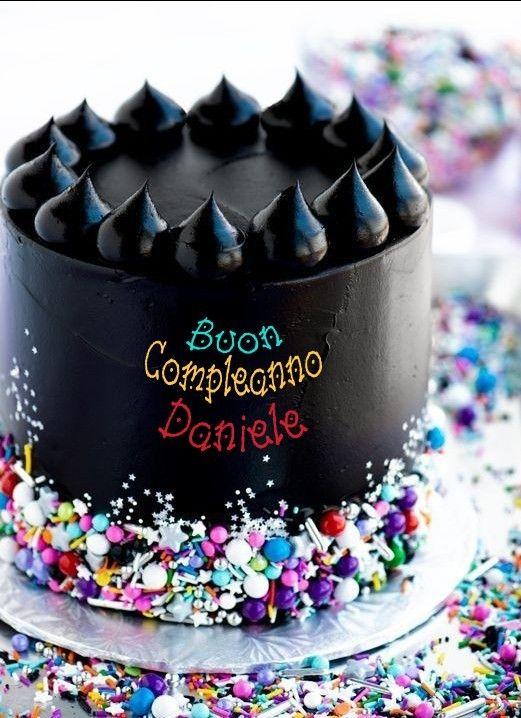 Buon Compleanno Daniele Torta