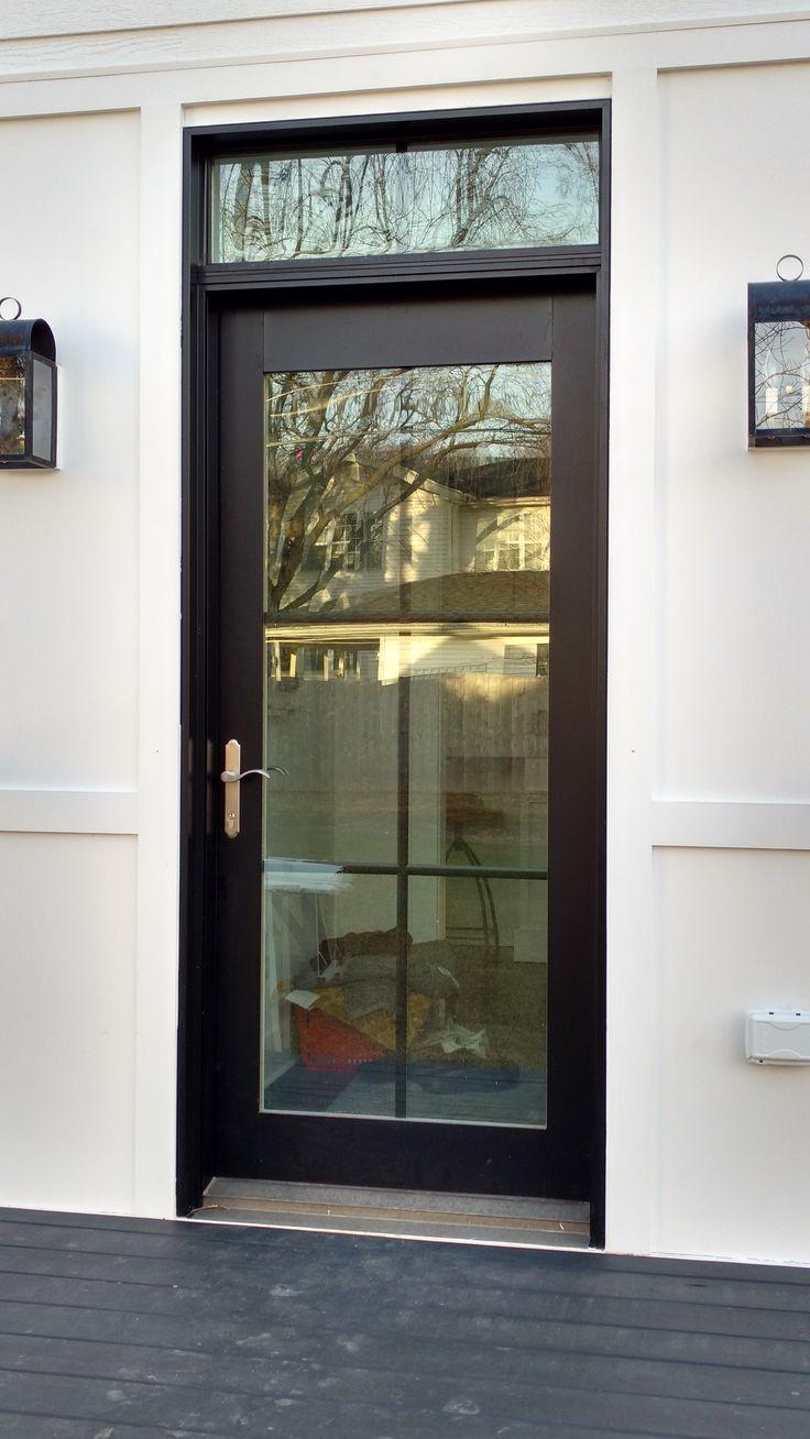 Beautiful Aluminum Clad Entry Doors