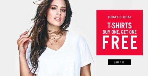 Addition Elle Canada Door Crasher: Buy 1 Get 1 FREE T-Shirt http://www.lavahotdeals.com/ca/cheap/addition-elle-canada-door-crasher-buy-1-1/188163?utm_source=pinterest&utm_medium=rss&utm_campaign=at_lavahotdeals