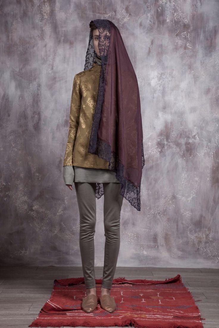 Russian designer Asiya Bareeva SS15