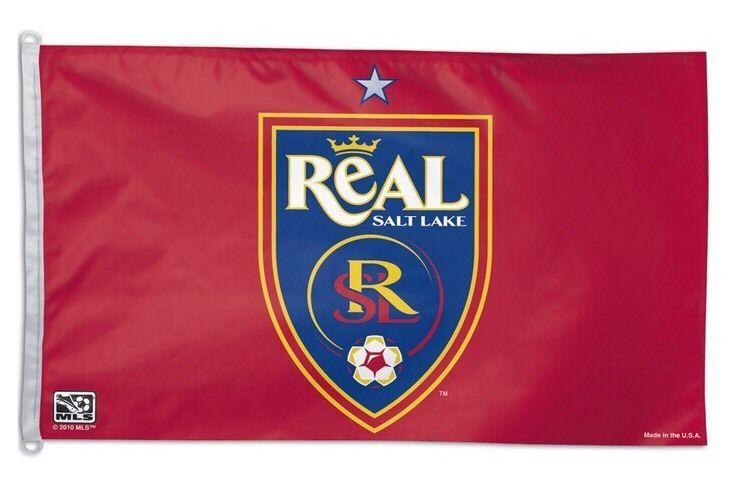 *HOT RARE* NEW Salt Lake Real MLS SOCCER Flag, 3x5' ft Flag  *LIMITED SUPPLY  | eBay