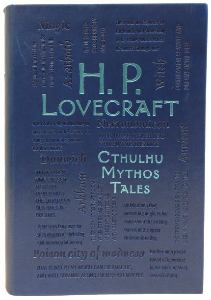 H. P. Lovecraft Cthulhu Mythos Tales - Word Cloud Classics