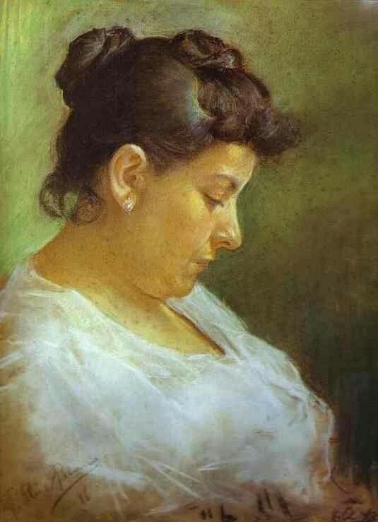 1896 Pablo Picasso (Spanish artist, 1881–1973) Портрет матери художника.