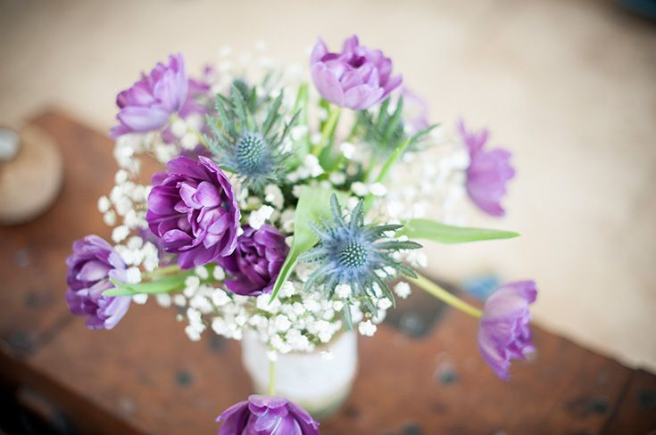 Beautiful Scottish flowers at Crear http://www.crearweddings.co.uk