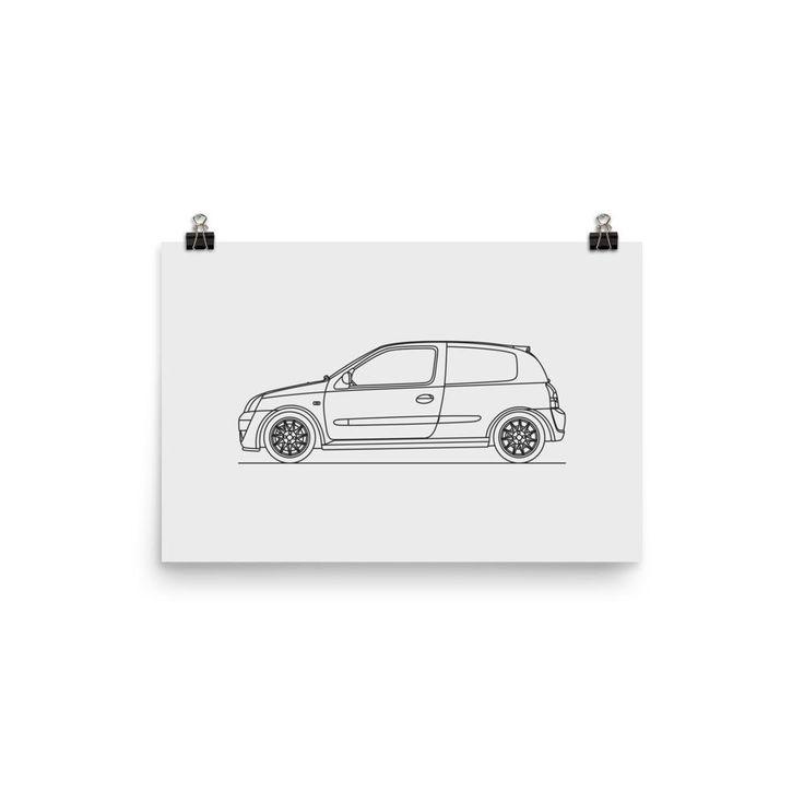 Clio 172 Cup Minimal Line Art (photo paper)
