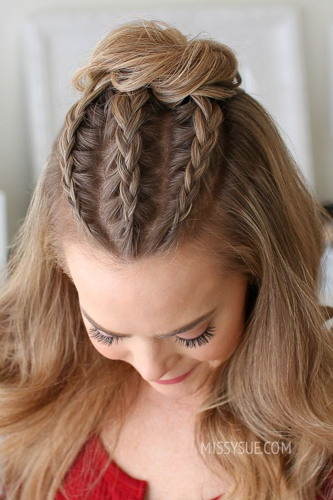 Half Up Hairstyles For Short Hair For Prom 3