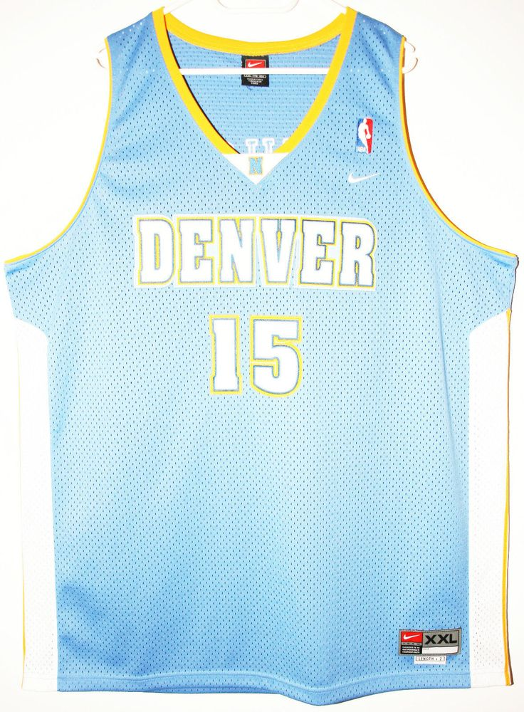 Nike NBA Basketball Denver Nuggets #15 Carmelo Anthony Trikot/Jersey Size 52 - Größe XXL - 49,90€ #nba #basketball #trikot #jersey #ebay #sport #fitness #fanartikel #merchandise #usa #america #fashion #mode #collectable #memorabilia #allbigeverything