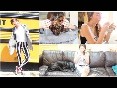 Morning Routine for Back to School: Makeup, Hair, & Outfit! + Time Savin...