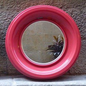 espejo-vintage-rojo-mementosbcn
