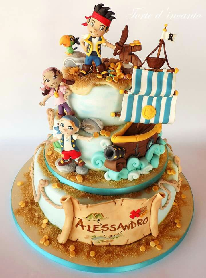 jake cake pirate cakes disney cakes celebration cakes pirate party ...
