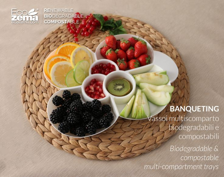 Biodegradable and compostable tableware by Ecozema - Respecting the environment does not imply giving up appealing product aesthetics. #banqueting #green #tableware #disposable #monouso #compostabile #design #recycle #reuse #reduce #stoviglie #cup #coppetta #ecofriendly #biodegradabile #bowls #vassoi #compostable #biodegradable #ecozema
