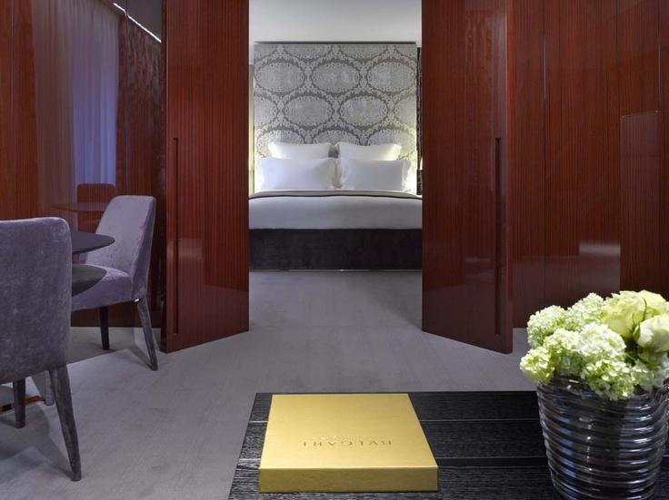 The rooms of Bulgari London luxury hotel - Bulgari Hotel Resort