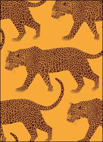 Vintage Big Cats stencils, stensils and stencles